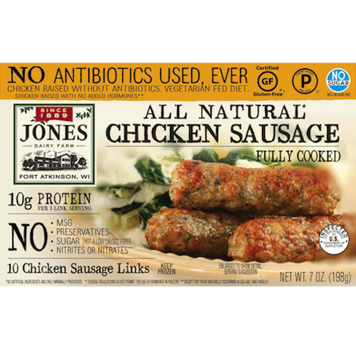recipe: jones turkey sausage nutritional information [37]