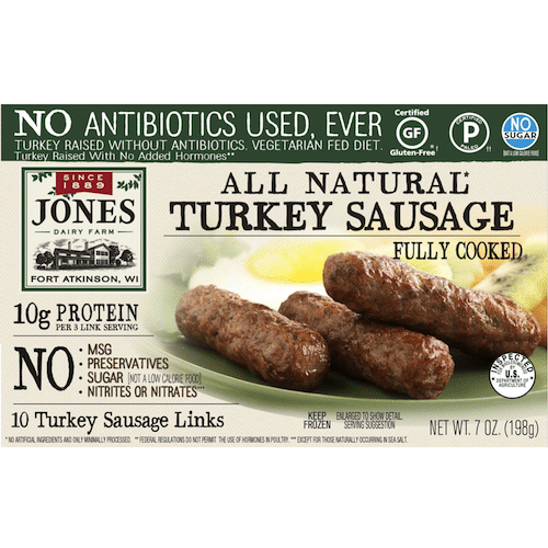 recipe: jones turkey sausage nutritional information [13]