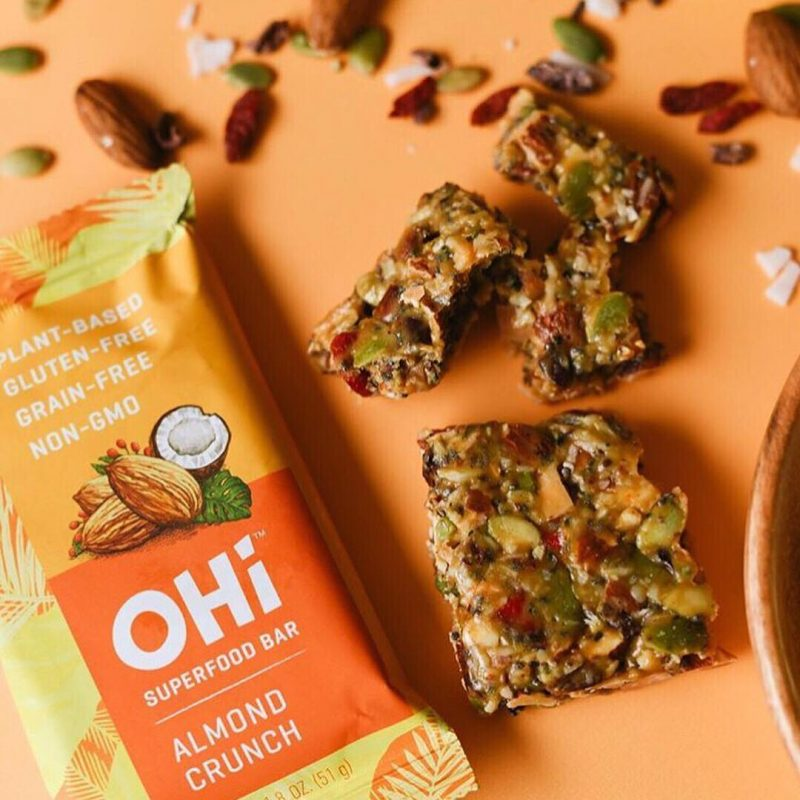 Almond Crunch - OHI Food Co. - Certified Paleo, PaleoVegan - Paleo Foundation