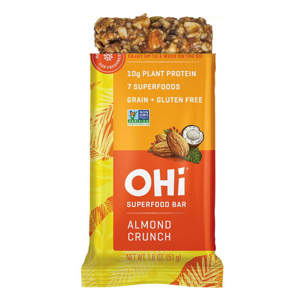 Almond Crunch - OHi Food Co. Certified Grain Free Gluten Free, Certified Paleo & PaleoVegan by the Paleo Foundation