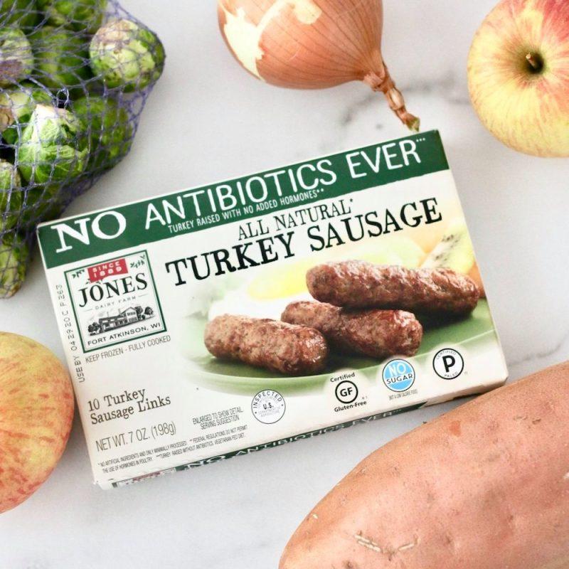 Antibiotic Free No Sugar Turkey Sausage Links 02 - Jones Dairy Farm - Certified Paleo by the Paleo Foundation