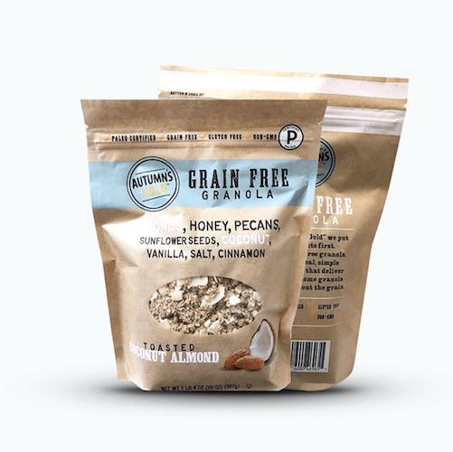 Autumn's Gold Certified Grain Free Gluten Free Granola