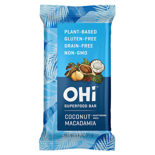 Coconut Macadamia - OHi Food Co. - Certified Paleo, PaleoVegan - Paleo Foundation