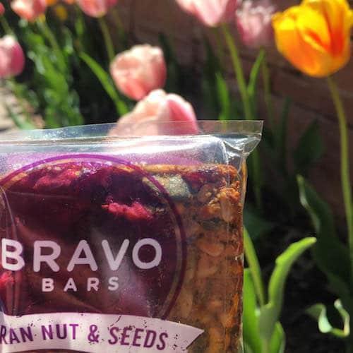 Cran Nut and Seeds Bravo Bars + Flowers - Nutritious U - Paleo Friendly - Paleo Foundation