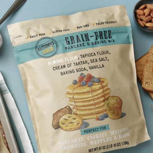 Grain Free Pancake and Baking Mix - Autumn's Gold - Certified Paleo by the Paleo Foundation