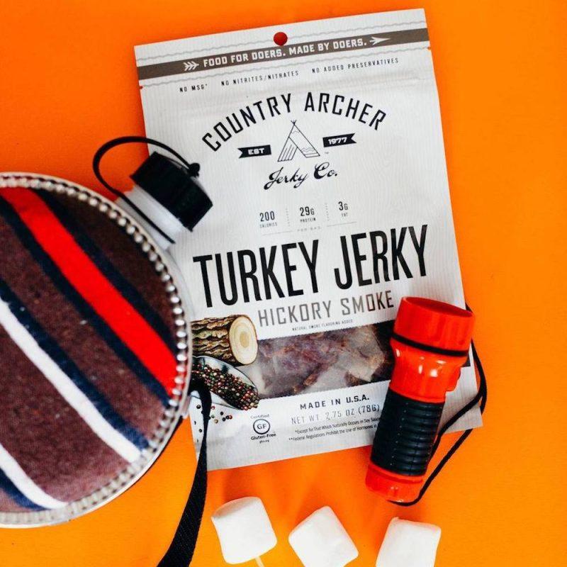 Hickory Smoke Turkey Jerky 02 - Country Archer Jerky Co. - Keto Certified by the Paleo Foundation