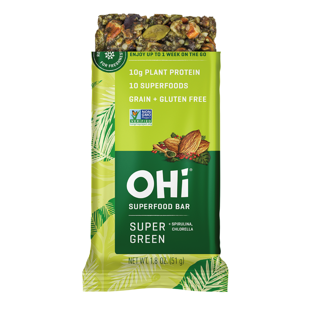 Super Green - OHi Food Co. - Certified Grain Free Gluten Free, Certified Paleo & PaleoVegan by the Paleo Foundation