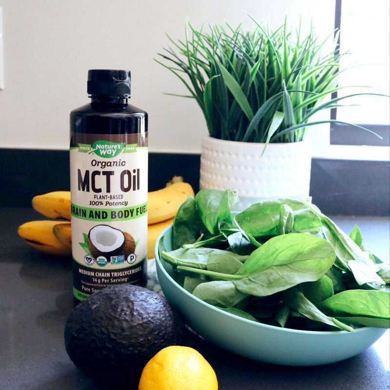 100% MCT Oil 3 - Nature's Way - Certified Paleo, Keto Certified by the Paleo Foundation
