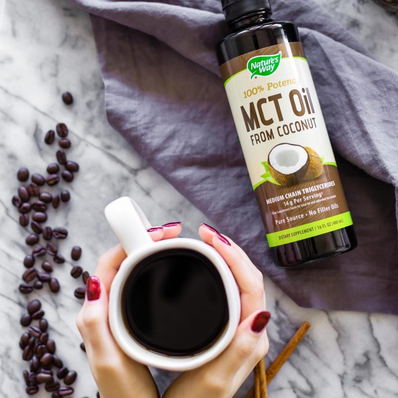 100% MCT Oil 4 - Nature's Way - Certified Paleo, Keto Certified by the Paleo Foundation