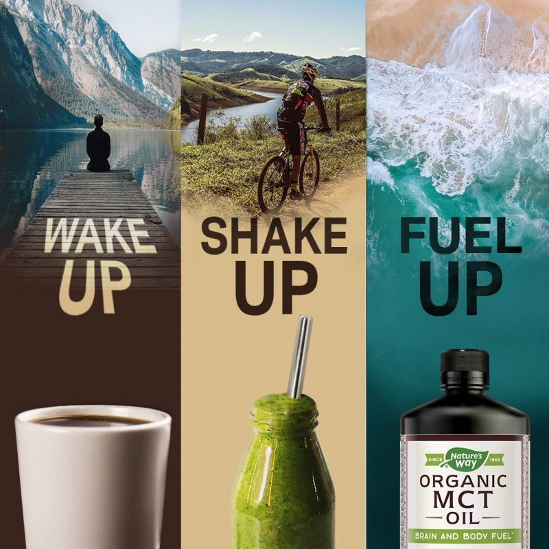 100% MCT Oil 5 - Nature's Way - Certified Paleo, Keto Certified by the Paleo Foundation