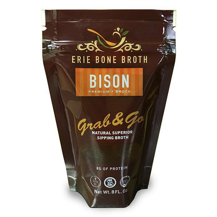 Bison Bone Broth - Erie Bone Broth - Certified Paleo Friendly by the Paleo Foundation