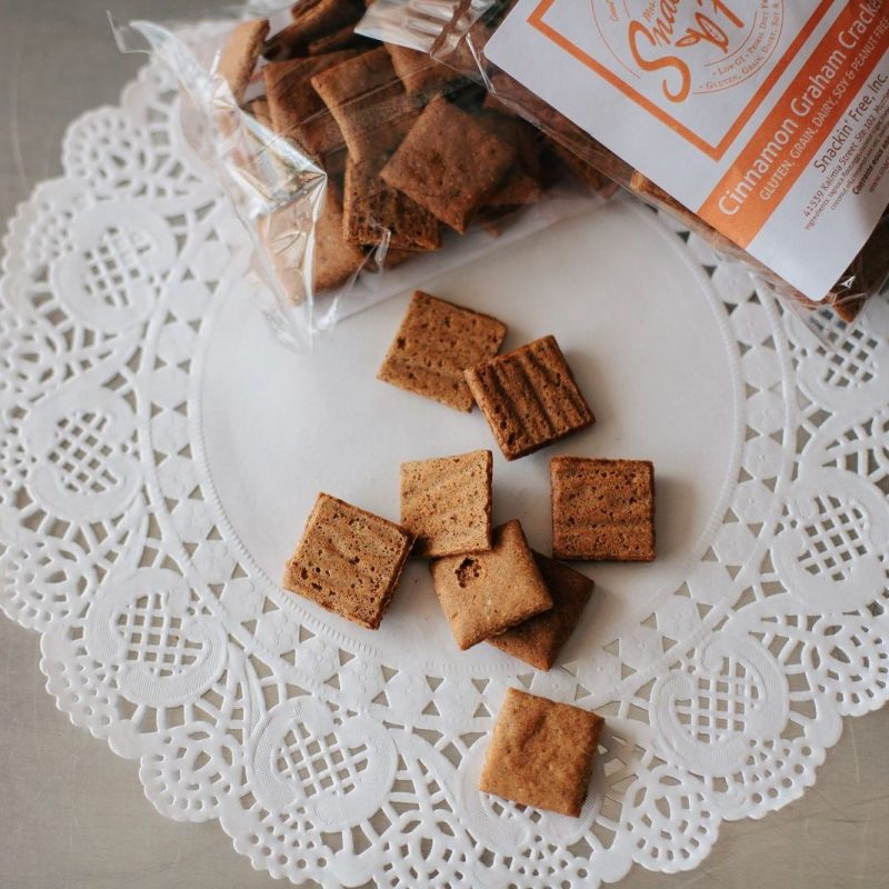 Cinnamon Graham Crackers - Snackin' Free - Certified Paleo, Paleo Vegan - Paleo Foundation