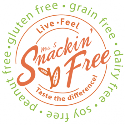 Snackin' Free - Certified Paleo, PaleoVegan, Keto Certified by the Paleo Foundation