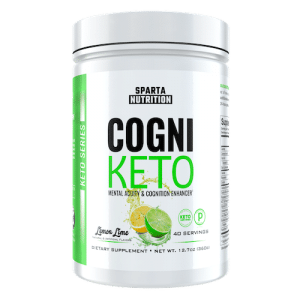 CogniKeto - Sparta Nutrition - Paleo Friendly, PaleoVegan, KETO Certified - Paleo Foundation