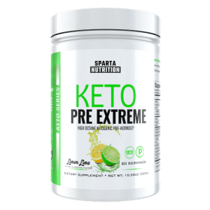 Keto Pre Extreme - Sparta Nutrition - Paleo Friendly, PaleoVegan, KETO Certified - Paleo Foundation