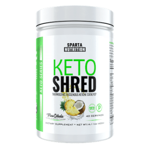 Keto Shred - Sparta Nutrition - Paleo Friendly, PaleoVegan, KETO Certified - Paleo Foundation