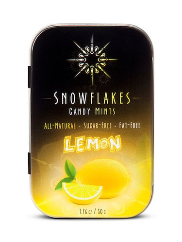 Lemon - Snowflakes Candy - Paleo Friendly - Paleo Foundation