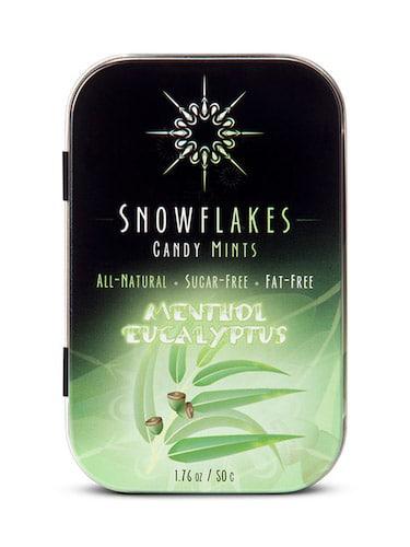 Menthol Eucalyptus - Snowflakes Candy - Paleo Friendly - Paleo Foundation