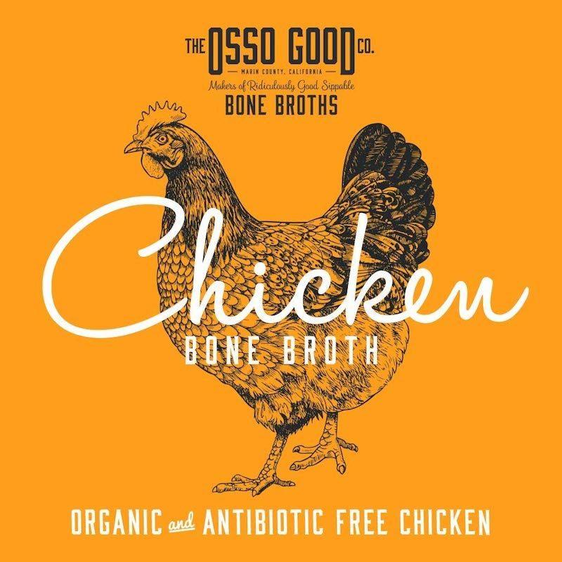 Organic, Antibiotic Free Chicken Bone Broth Certified Paleo Certified Grain Free Gluten Free