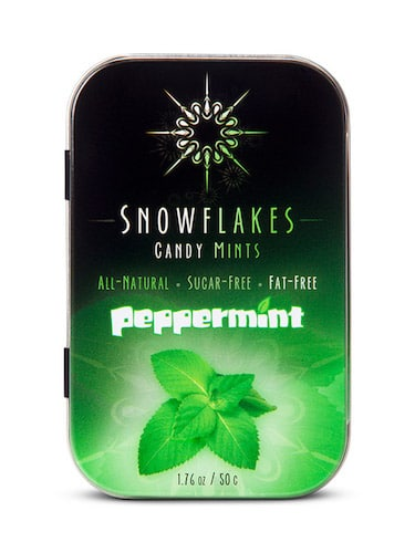 Peppermint - Snowflakes Candy - Paleo Friendly - Paleo Foundation