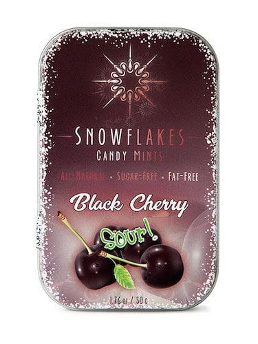 Sour Black Cherry - Snowflakes Candy - Paleo Friendly - Paleo Foundation