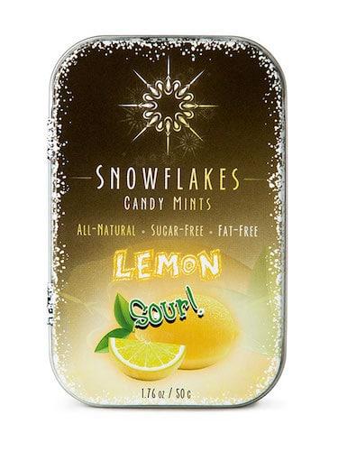 Sour Lemon - Snowflakes Candy - Paleo Friendly - Paleo Foundation