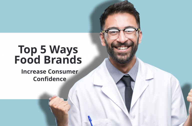 Top 5 ways food brands increase consumer confidence