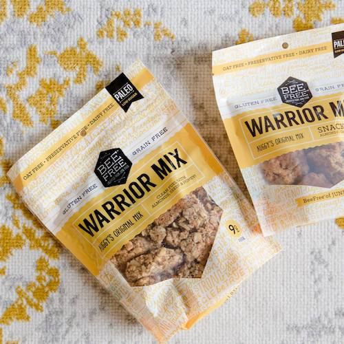 Auggy's Original Warrior Mix - BeeFree Gluten Free - Certified Paleo - Paleo Foundation
