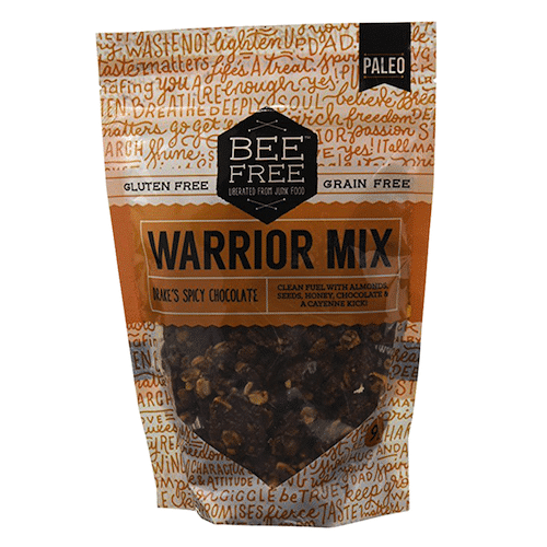 Drake's Spicy Chocolate Warrior Mix - Bee Free Gluten Free - Certified Paleo - Paleo Foundation