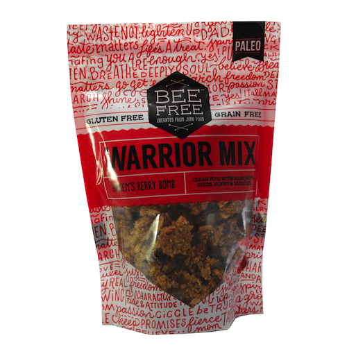 Hagen's Berry Bomb Warrior Mix - Bee Free Gluten Free - Paleo Friendly - Paleo Foundation