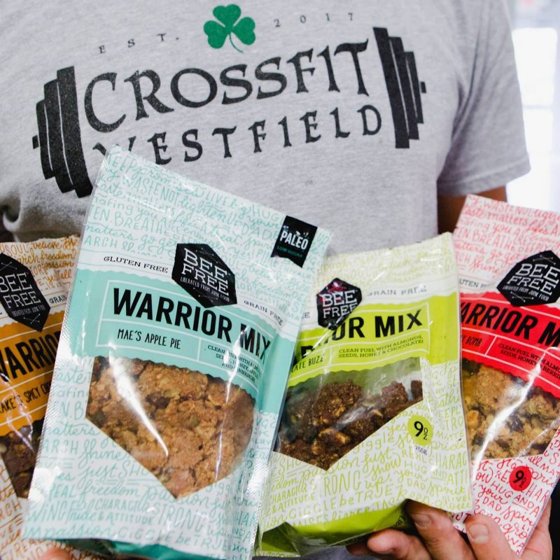 Lineup + Crossfit - Bee Free Gluten Free - Certified Paleo, Paleo Friendly - Paleo Foundation