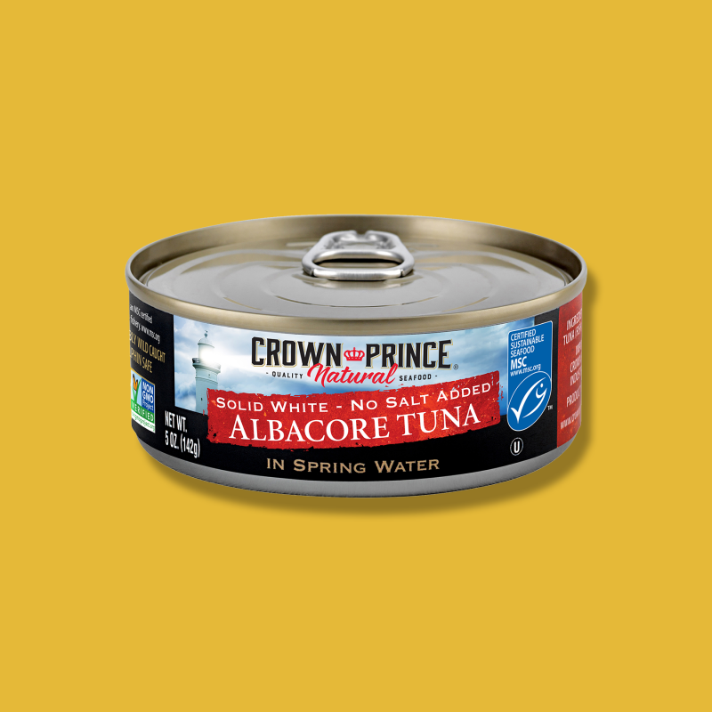 Albacore Tuna - Crown Prince - Certified Paleo Keto Certified by the Paleo Foundation