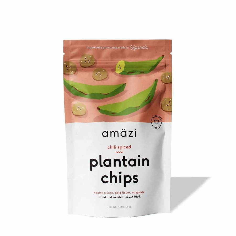 Chili Spiced Plantain Chips - Amazi - Certified Paleo by the Paleo Foundation