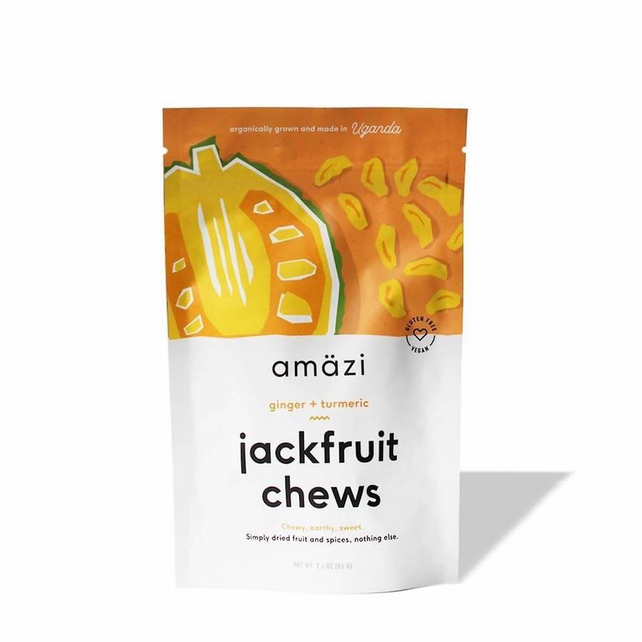 Ginger Turmeric Jackfruit Chews - Amazi - Certified Paleo by the Paleo Foundation