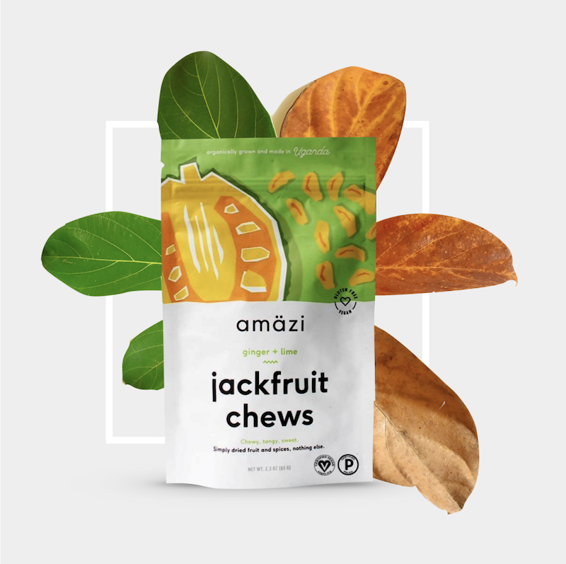 Ginger + lime jackfruit chews certified paleo