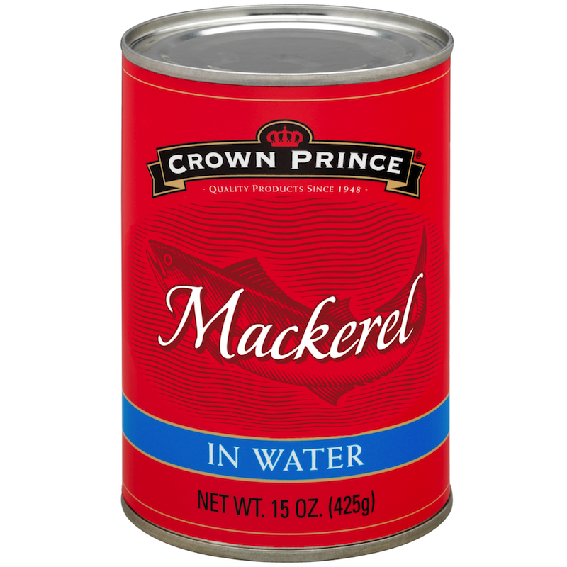 Mackerel in Water - Crown Prince - Certified Paleo Keto Certified by the Paleo Foundation