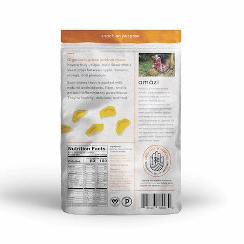 Jackfruit Ginger Turmeric back - Amazi - Certified Paleo - Paleo Foundation