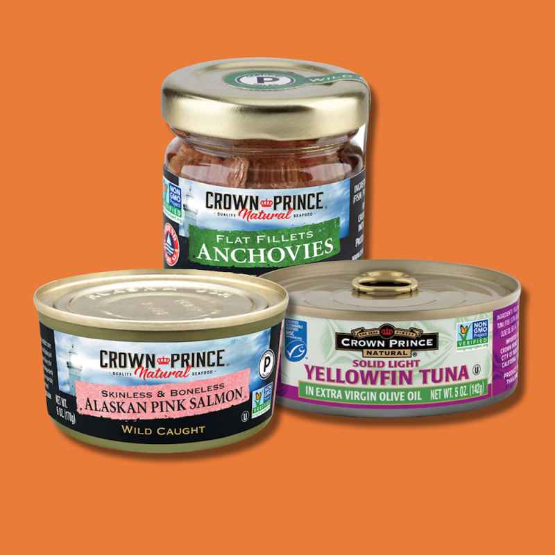 Lineup - Crown Prince Seafood - Certified Paleo by the Paleo Foundation