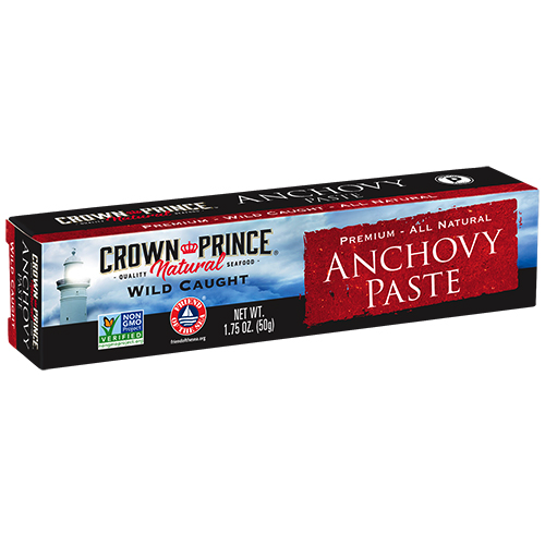 Natural Anchovy Paste - Crown Prince Seafood - Certified Paleo Keto Certified - Paleo Foundation
