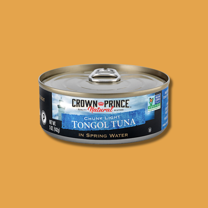 Natural Chunk Light Tongol Tuna 10 - Crown Prince Seafood - Certified Paleo - Paleo Foundation