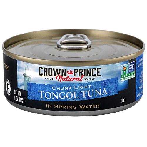 Natural Chunk Light Tongol Tuna - Crown Prince Seafood - Certified Paleo - Paleo Foundation