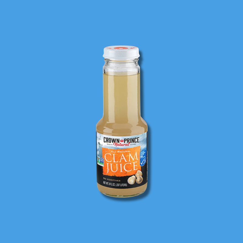 Natural Clam Juice 10 - Crown Prince Seafood - Certified Paleo - Paleo Foundation