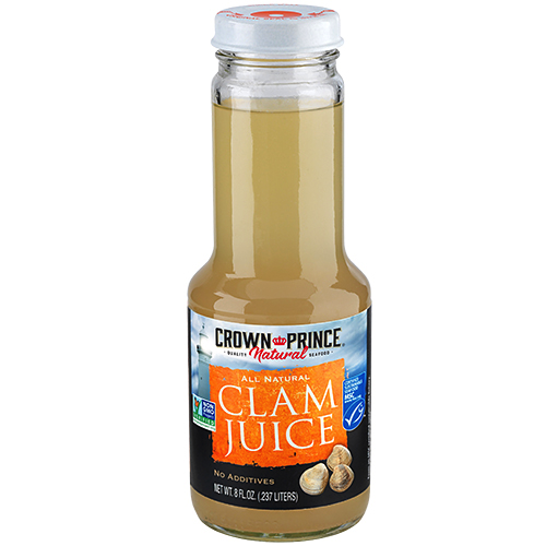 Natural Clam Juice - Crown Prince Seafood - Certified Paleo - Paleo Foundation