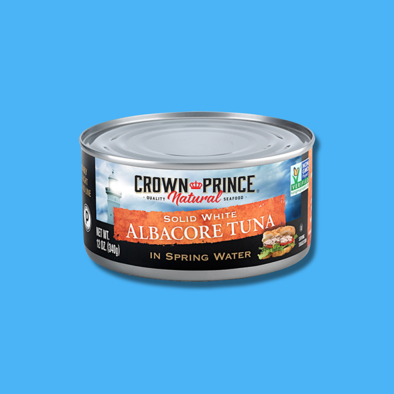 Natural Solid White Albacore Tuna 10 - Crown Prince Seafood - Certified Paleo - Paleo Foundation