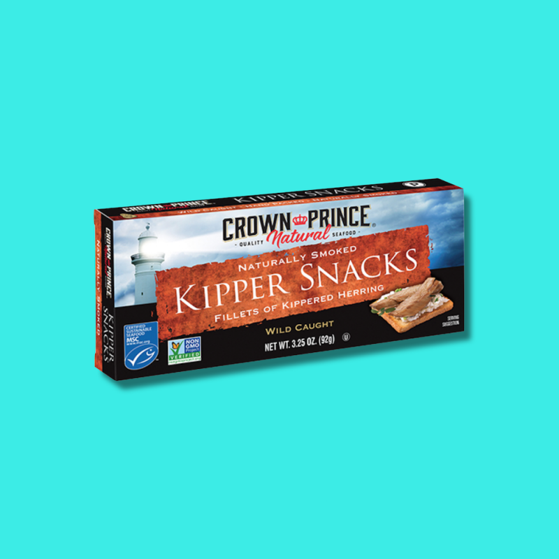 Naturally Smoked Kipper Snacks 10 - Naturally Smoked - Crown Prince Seafood - Certified Paleo - Paleo Foundation