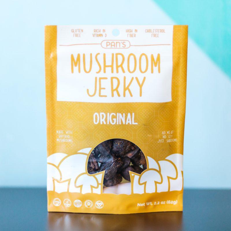 Original - Pan's Mushroom Jerky - Certified Paleo, PaleoVegan - Paleo Foundation