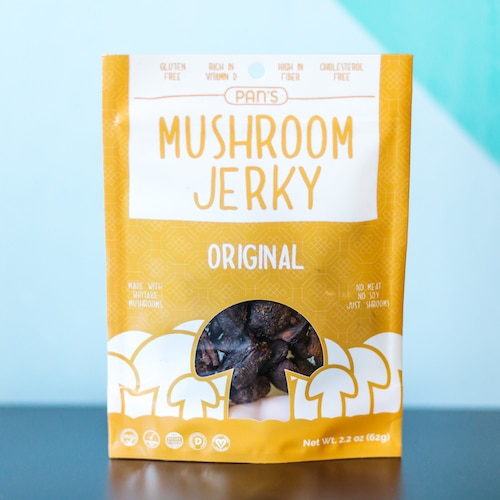 Original - Pan's Mushroom Jerky - Certified Paleo, PaleoVegan - Paleo Foundation