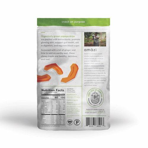 Papaya Ginger Lime back - Amazi - Certified Paleo - Paleo Foundation