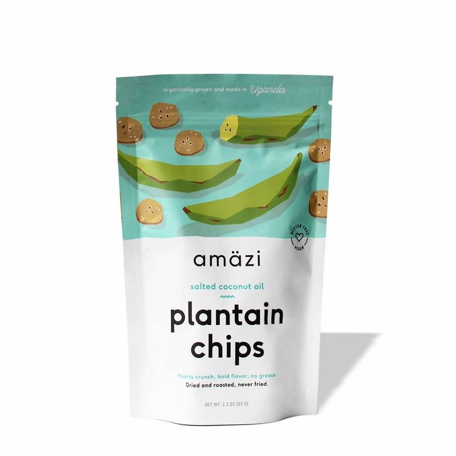 Salted Coconut Oil Plantain Chips - Amazi - Certified Paleo by the Paleo Foundation