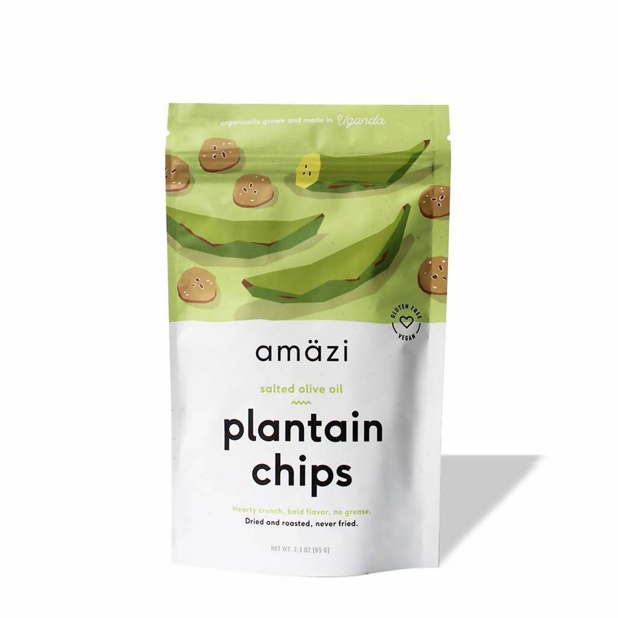 Salted Olive Oil Plantain Chips - Amazi - Certified Paleo by the Paleo Foundation